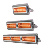 Solaira Alpha Series – Electric Radiant Heater – H1, H2, and H3 – patio, restaurant, garages, outdoor areas