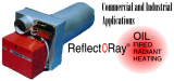 Reflect-O-Ray OIL EDS - Oil Fired Radiant Heater