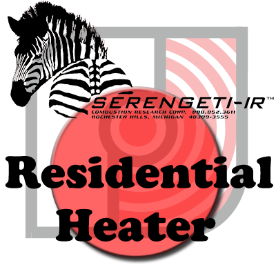 Serengeti-IR Residential Gas Fired Radiant Infrared Tube Heaters