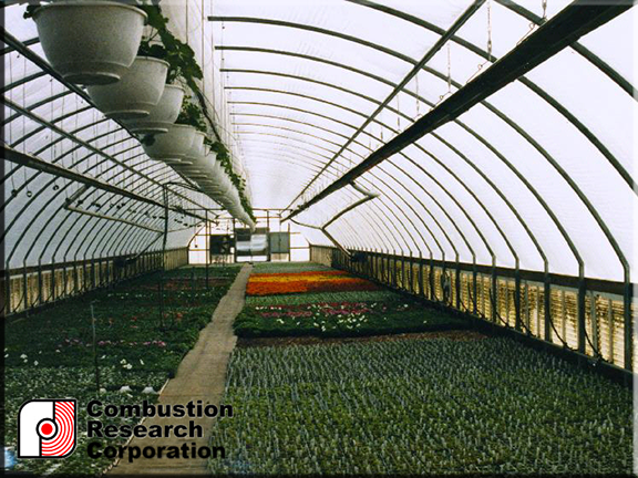 Greenhouse Low Intensity Radiant Infrared Heater