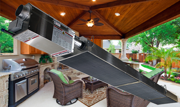 Patio Heating With Radiant Infrared Heaters