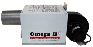 Omega II DI PEP - Powder Coated – Side view – Lable Forward